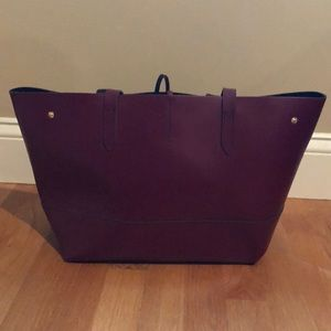Used JCrew Leather Tote